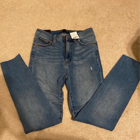 J. Crew women's high waisted skinny jeans